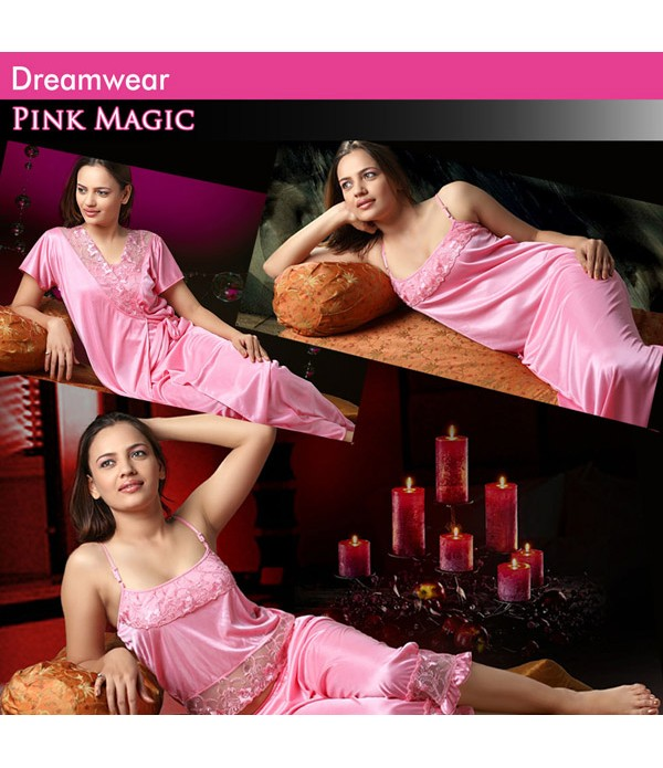 Dreamwear Pink Magic Lingerie Set